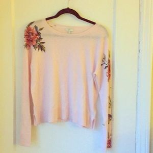Joie pink sweater.